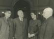 Eesti nõuk. kirjanduse dekaad Moskvas 1950. Vas. 1. Surkov, 2. N. Tihhonov, 3. D. Vaarandi, 4. A. Alle  - KM EKLA