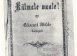 Vilde, Eduard, Külmale maale, 1896, kaas - KM EKLA