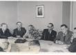 EN kirjanike konverentsilt. Tööpresiidium: 1. E. Päll, 2. J. Semper, 3. O. Urgart, 4. A. Raadik, 5. P. Viiding - KM EKLA