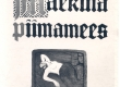 Vilde, Eduard, Mäeküla piimamees, Tln., 1916, kaas - KM EKLA