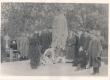 Jakob Tamme mälestusmärgi avamine 24. mail 1912. a. Väike-Maarja kalmistul. Samba valmistanud J. Koort - KM EKLA