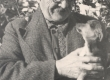 Jakob Liiv koduaias Rakveres - KM EKLA