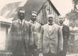 Vasakult: Jakob Liiv, Villem Ridala, Ernst Enno, Madis Küla (Nurmik) - KM EKLA