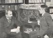 Vasakult: Eino Leino ja Gustav Suits Helsingis, 1922. a. - KM EKLA