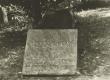 Hendrik Adamson'i hauatahvel Helme surnuaial 1965. a. - KM EKLA