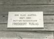 Friedebert Tuglas'e elamist Kirepi mõisas 1897-1901 tähistav tahvel - KM EKLA