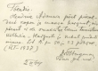 Hendrik Adamsoni tervisetõend 1944. a. - KM EKLA