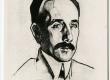 Gustav Suitsu portree. Nikolai Triik'i joonis 1914. a.  - KM EKLA