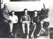 Vasakult: 1) Jaan Vahtra, 2) , 3) Konstantin Süvalo (Ðtðerbakoff), 4) Emilie Vares, 5) Johannes Vares-Barbarus Pärnus - KM EKLA