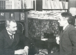 Eino Leino ja Gustav Suits. Helsingi 1922 - KM EKLA