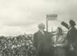 Vasakult: 1) H. Adamson, 3) R. Tammelo Viljandimaal Kärstnas 1944 - KM EKLA