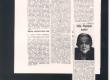 """Hella Wuolijoki, tema kohta: T. H]avu] """"Kirjailija Hella Wuolijoki"""", """"Helsingin Sanomat"""" 8. II 1954. """"Hella Wuolijoki kuollut"""", """"Helsingin Sanomat"""" 3. II 1954 - KM EKLA"""