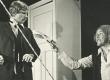 """August Kitzberg """"Rätsep Õhu meenutused"""" ENSV Riiklikus Noorsooteatris 1979. Kaarel Kilvet (Rätsep Õhk) ja Ants Vain - KM EKLA"""