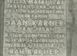 Tahvel Jaan Kärneri maja seinal Tartus V. Kingissepa tänavas  - KM EKLA