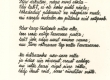 """H. Adamson. Õhtu laul. Käsikirjalisest luuletuskogust """"Tähekannel"""" - KM EKLA"""