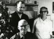 Albert Kivikas Lundis oma abikaasa ja pojaga - KM EKLA