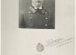 August Alle Saraatovis üliõpilasmundris + pühendus Regina Sztrallile 18. V 1917 - KM EKLA