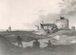 O. Fr. Pistohlkors, Rakvere varemed (esiplaanil paremal Fr. R. Faehlmann). Õlimaal 1838. a. - KM EKLA