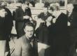 A. Hint, R. Paris, H. Talvik, E. Hiir jt. kirjanike ringreisil 27. IX 1938 - KM EKLA