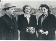 Vasakult: 1) Johannes Semper, 2) Tamara Restovaite, 3) Debora Vaarandi - KM EKLA