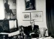 Friedebert Tuglas oma kodus - KM EKLA
