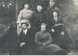Vigala-Peru algkooli õpetajad, keskel talvemütsiga Ernst Enno 6. VI 1921. a. - KM EKLA