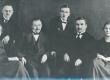 Ernst Enno ja Läänemaa Haridusosakonna töötajad 1920.-te a. keskel - KM EKLA
