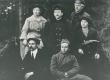 Ernst Enno ja Peru algkooli õpetajad Vigalas 1921. a. - KM EKLA