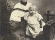 Marie Under tütar Dagmariga Moskvas 1903 (?) - KM EKLA