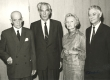 Artur Adson, Aleksis Rannit, Signe Pinna ja Karl Ristikivi ca 1970 - KM EKLA
