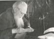 Ernst Peterson-Särgava oma kodus Pirita Kosel 7. X 1957. a. - KM EKLA