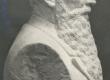 F. Sannamees, Ernst Särgava. Büst, kips - KM EKLA