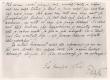 E. Peterson-Särgava, kiri. A. Saarestele 8. VIII 1916 (katkend lõpust) Orig.: reg. 1944/5 - KM EKLA