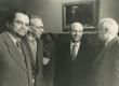 III Üleliiduline kirjanike kongress Moskvas 1959. a. Vas.: 1) M. Aibek, 2) Mart raud, 3) Abaðidze, 4) Nikolai Tihhonov - KM EKLA