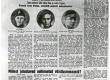 """""""Looduse"""" romaanivõistluse laureaadid: Karl Ristikivi, Leida Tigane, Elmar Õun """"Päevaleht"""" 1. X 1938 - KM EKLA"""