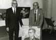 Karl Ristikivi 60. aasta sünnipäev 1972. a. Karl Ristikivi ja Eduard Ole - KM EKLA