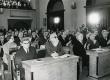 Kirjanike kongress 1971. a. Tallinnas. Esireas A. Hint, V. Adams - KM EKLA