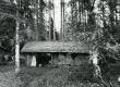 Betti Alveri venna ehitatud saun Pühastes, kus sündisid mõned B. Alveri luuletused. Foto 1982. a - KM EKLA