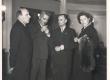J. Semper, K. Simonov, Paul Rummo, A. Kaal Eesti nõuk. Kirjanduse dekaadil Moskvas 1956. a. - KM EKLA