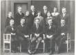 Põld, Peeter - istub vas. 3. Tartu Ülikooli didaktilis-metoodil. Seminar 1924/25 - KM EKLA