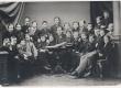 Jakobson, C. R. Peterburis õpetajate Popovi, Konstantinovi ja õpilastega - KM EKLA