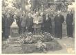 Aktus L. Koidula haual 1944. a. suvel - KM EKLA