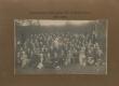 Saaremaa õpetajate III suvekursus 1921. a. I r. istuvad vas.: 3) August Mälk, 6) Johannes Aavik - KM EKLA
