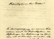 Soome Kirjanduse Selts (E. Lönnrot), kiri Fr. R. Kreutzwald'ile [saksa keeles], 7. III 1855