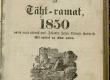 Maarahva Kasuline Kalender 1850