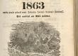 Maarahva Kasuline Kalender 1863