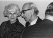 Valda ja Mart Raud kirjanike kongressil aprillis 1977 - KM EKLA