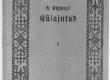 """August Kitzberg, """"Külajutud"""", 1915. Kaas. """"Noor-Eesti"""" kirjastus - KM EKLA"""