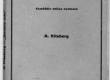 "A. Kitzberg, ""Neetud talu"", Trt, 1923. Kaas - KM EKLA"