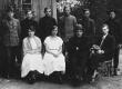 Hendrik Adamson oma õpilaste ja kaasõpetajatega 1. VI 1923 - KM EKLA
